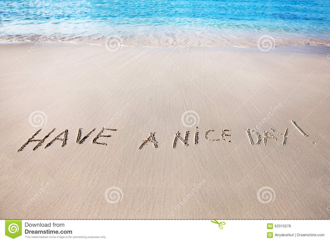have a nice day stock photo   image 62015078