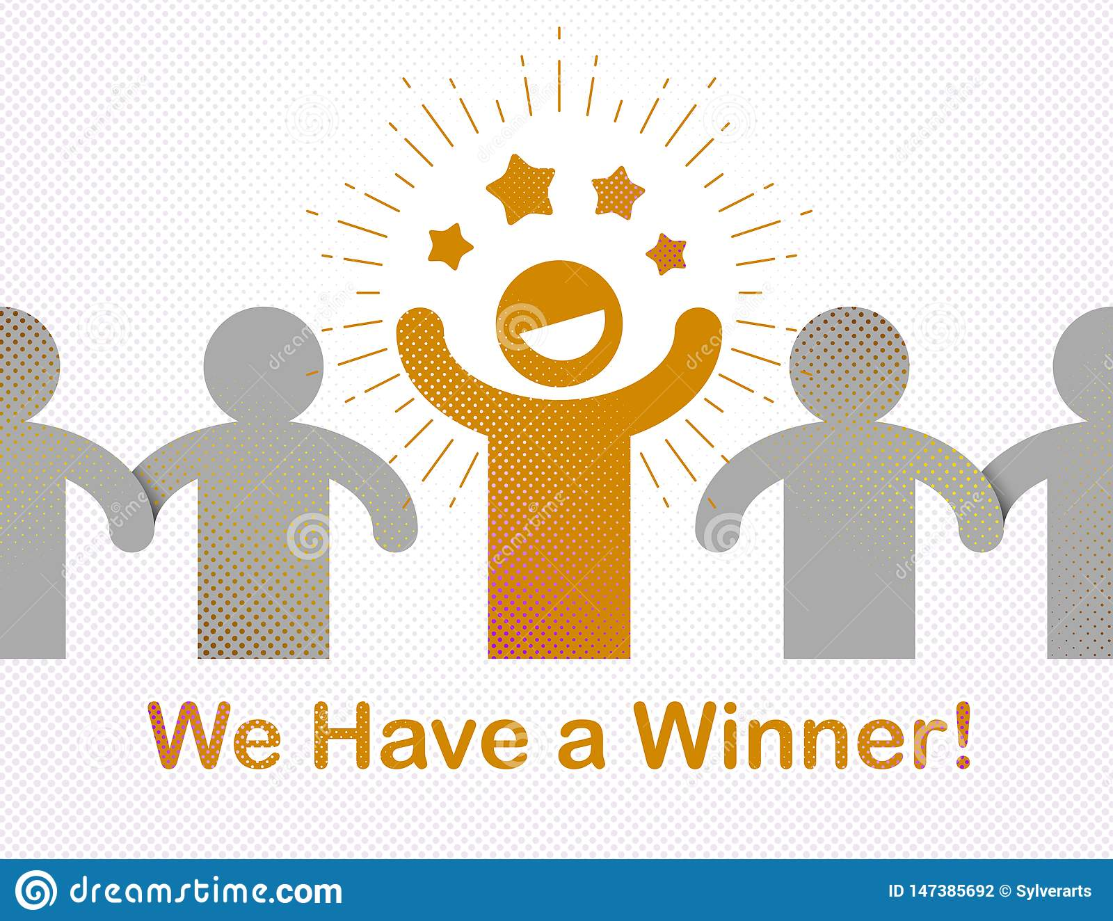 We have a winner vector concept of leadership, victory and success.