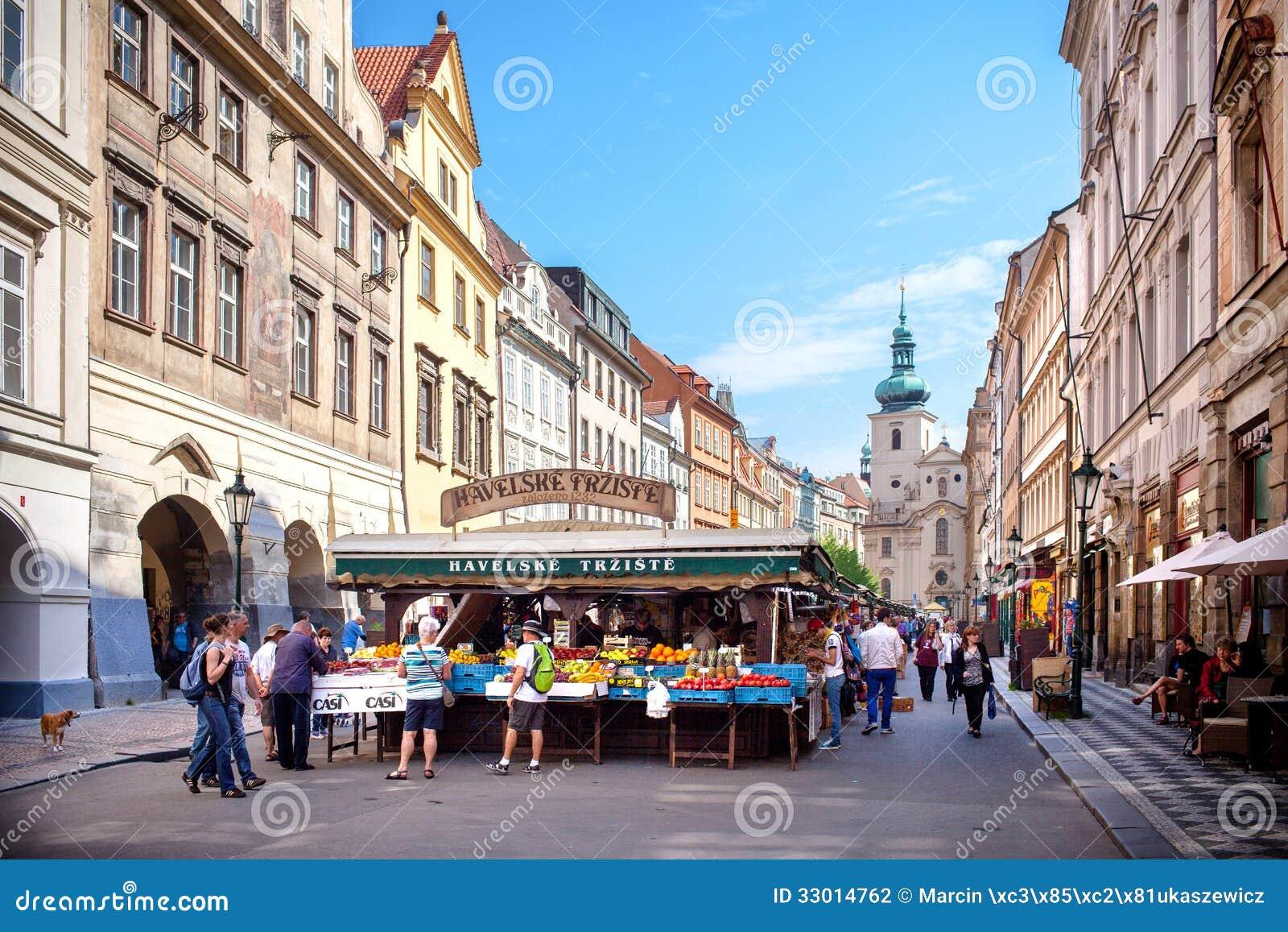 Havelske trziste havels market permanent marked in the for Prague center