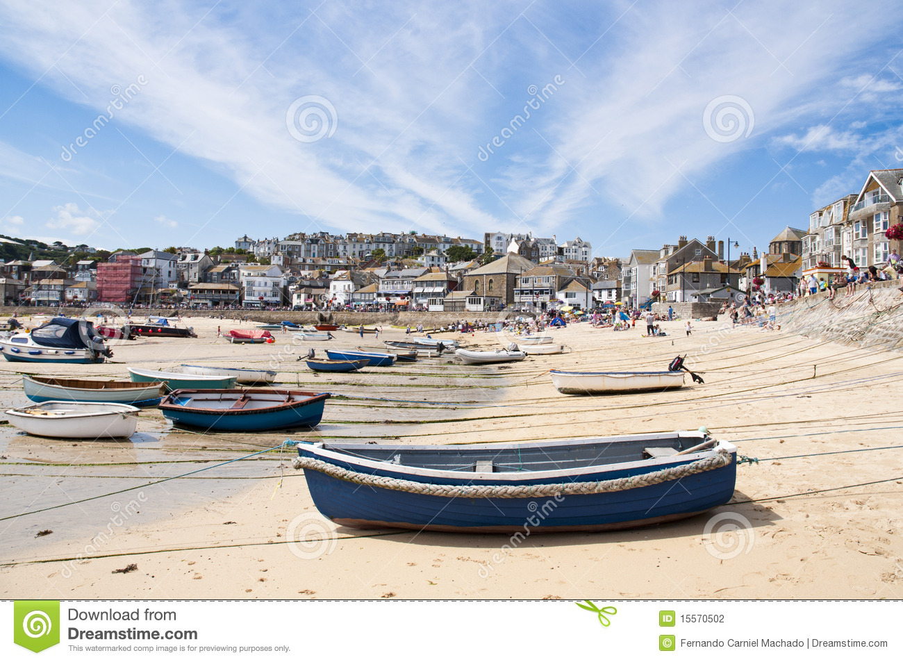 Haven St. Ives, Cornwall, het UK