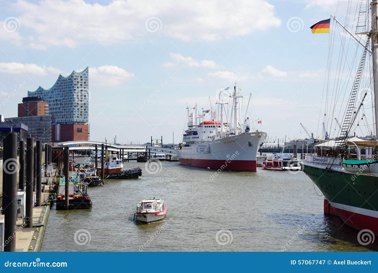 Haven van Hamburg Duitsland