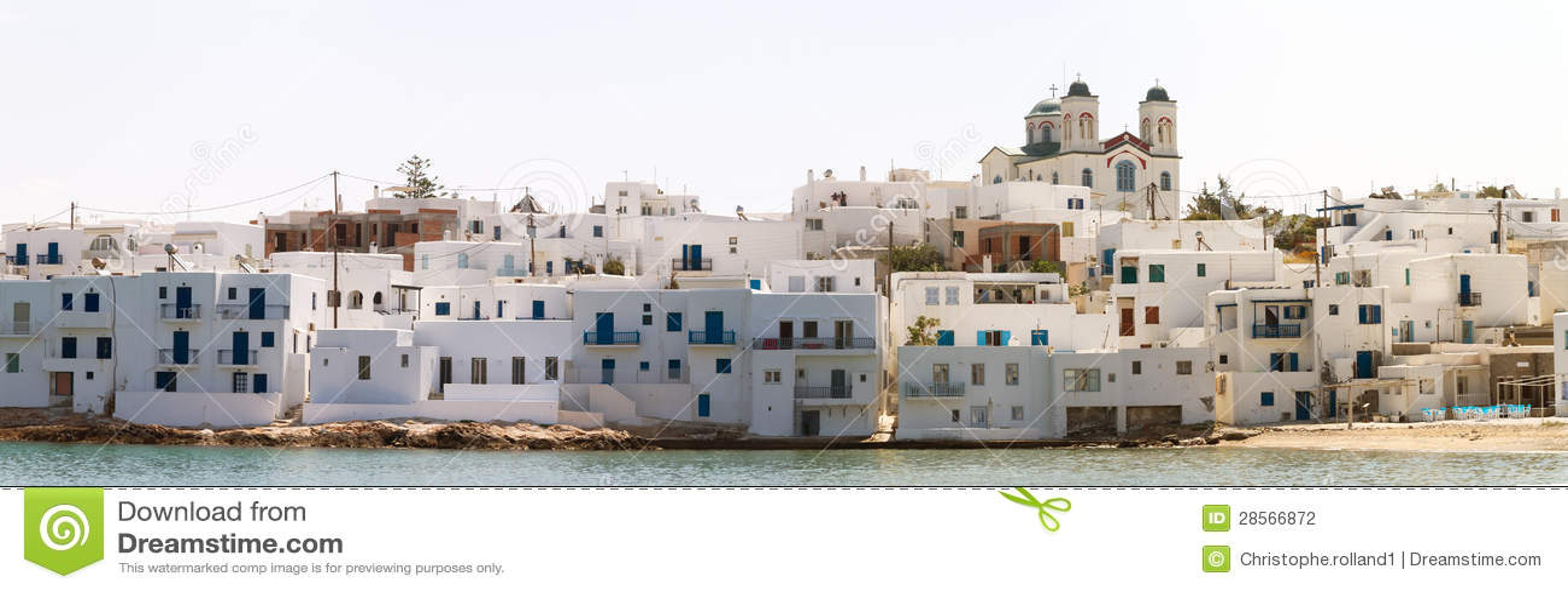 Haven van Naoussa, Paros eiland, Griekenland