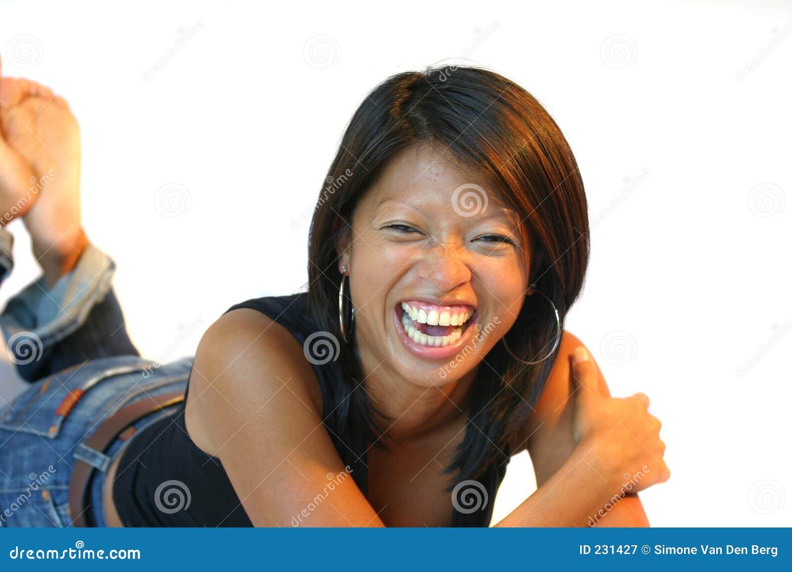 Having a good laugh