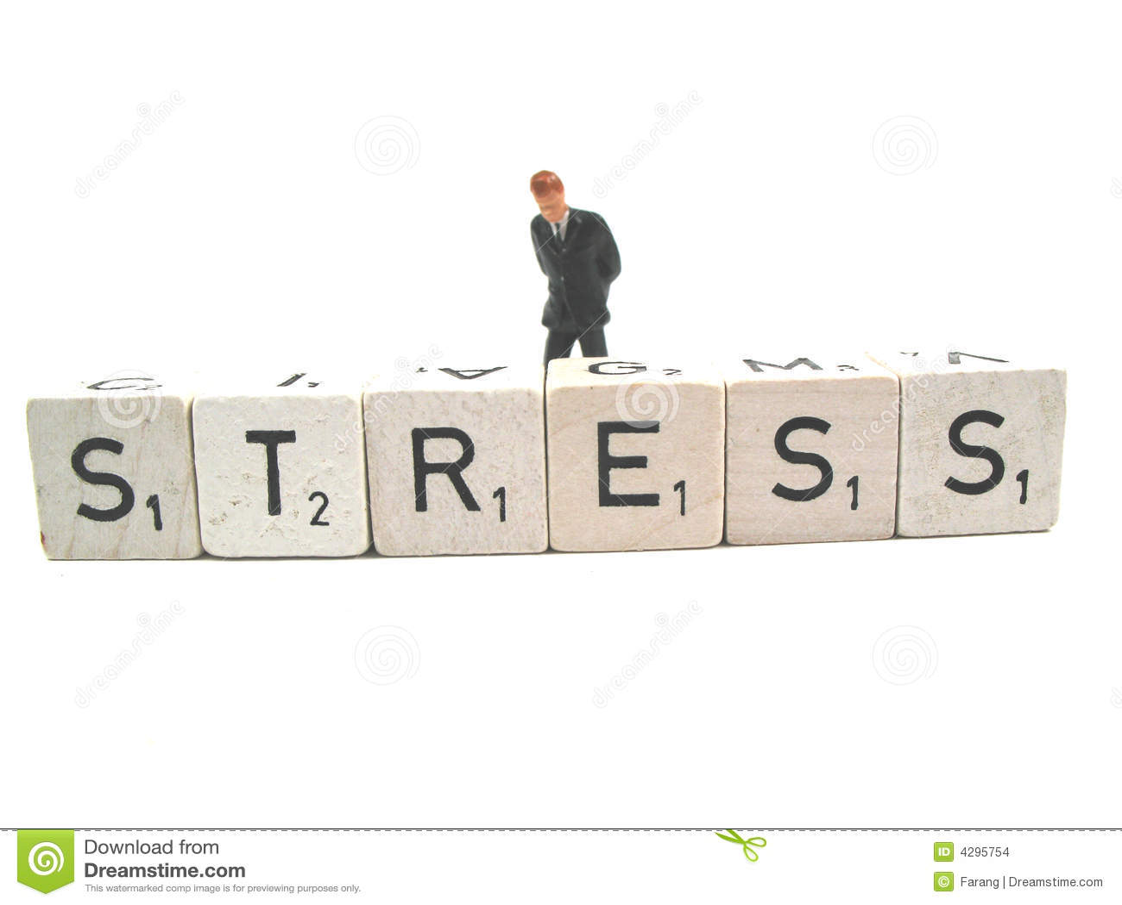 Having stress