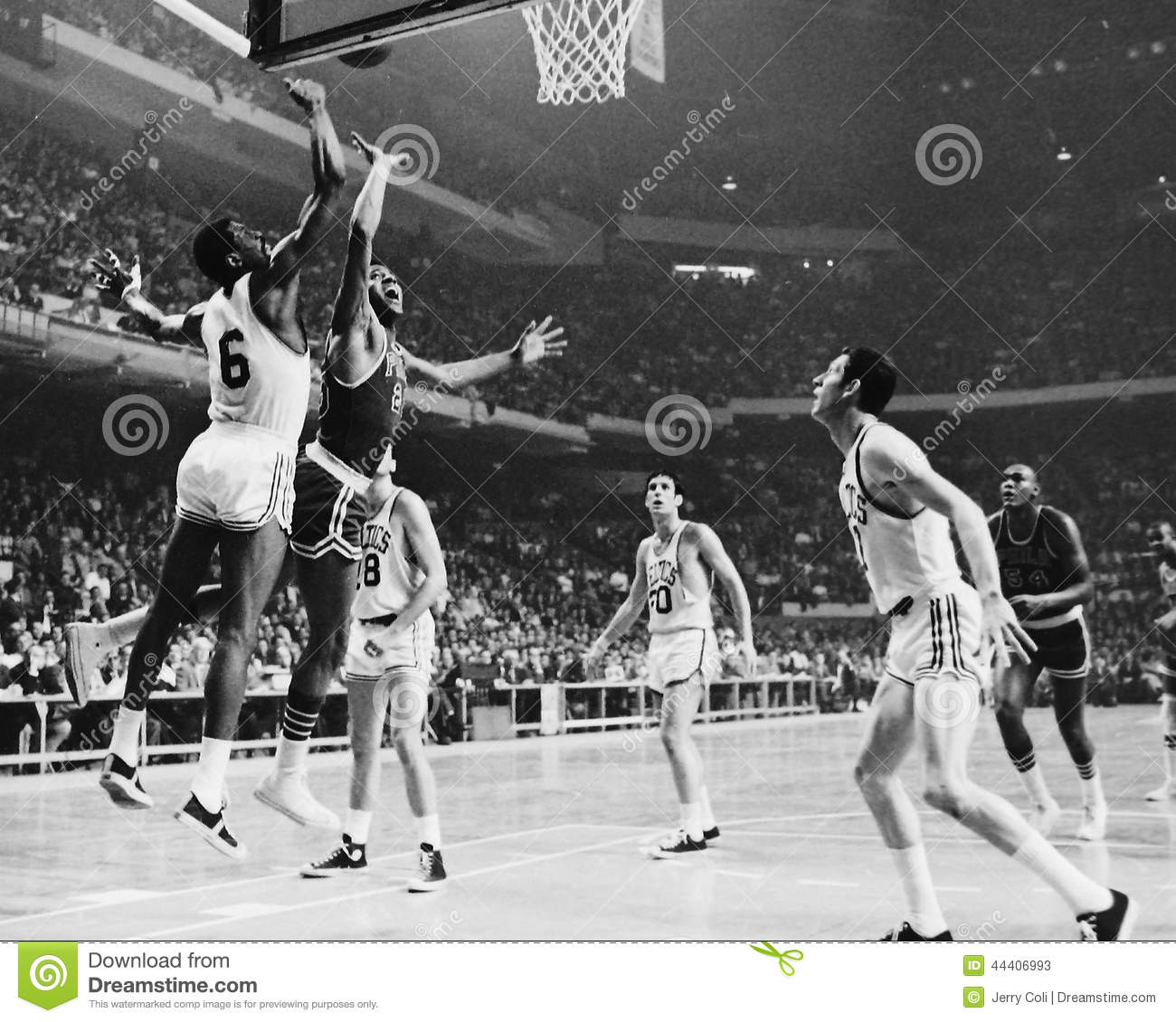 Bill russell coloring pages ~ Havlicek And Russell, Boston Celtics Editorial Stock Photo ...