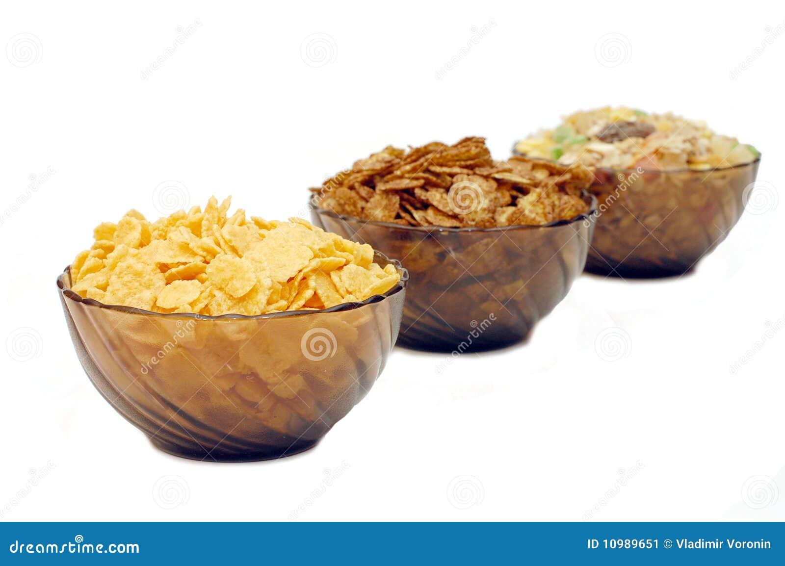 Havren cups olika flakes tre