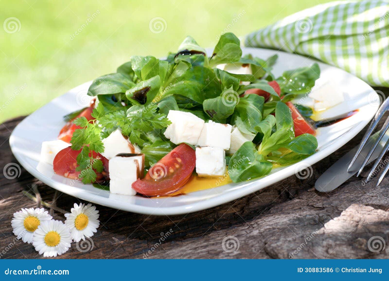 Havresallad med ost