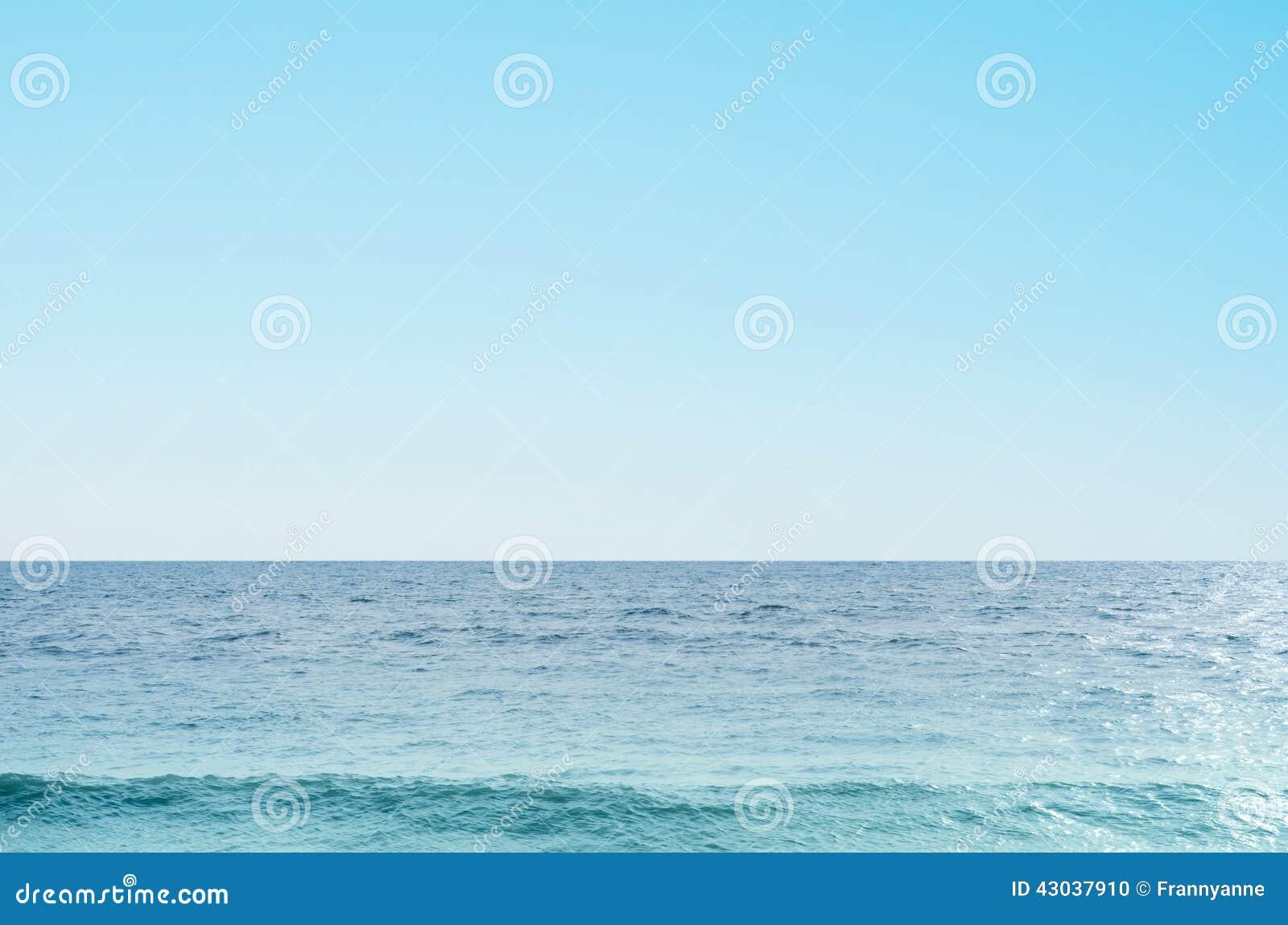 Havs- och himmelbakgrund