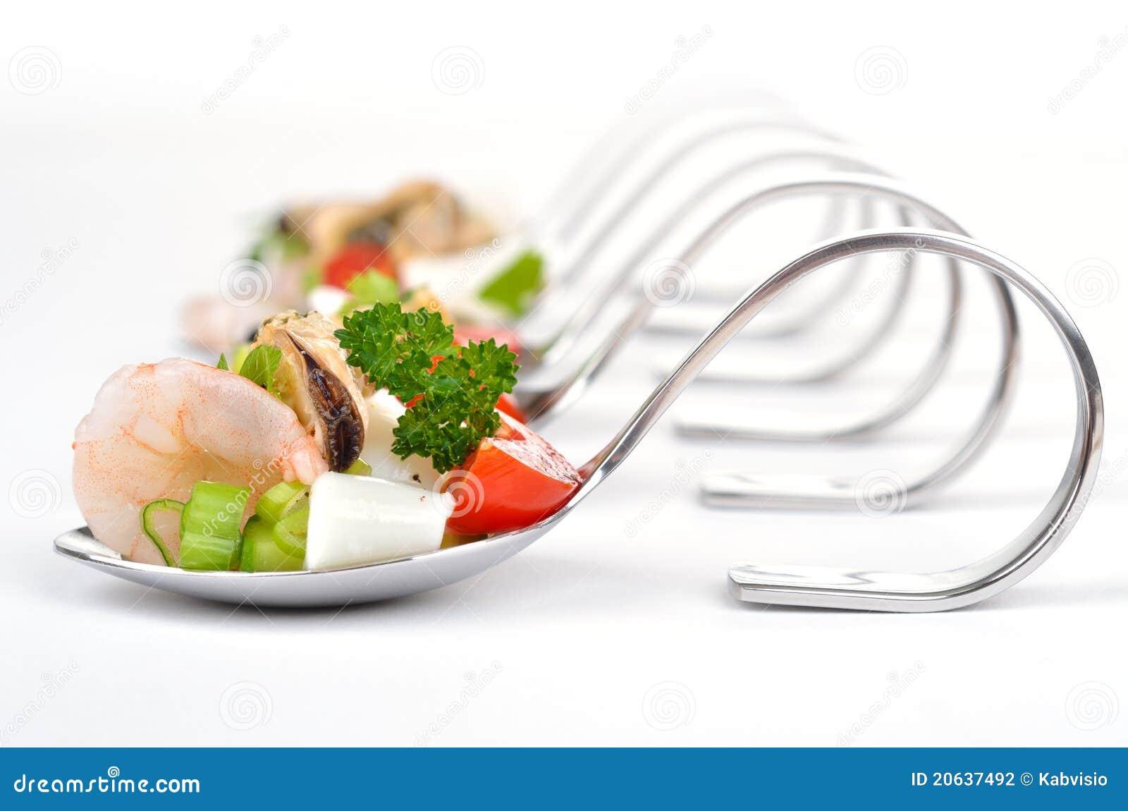 Havs- sked för sallad