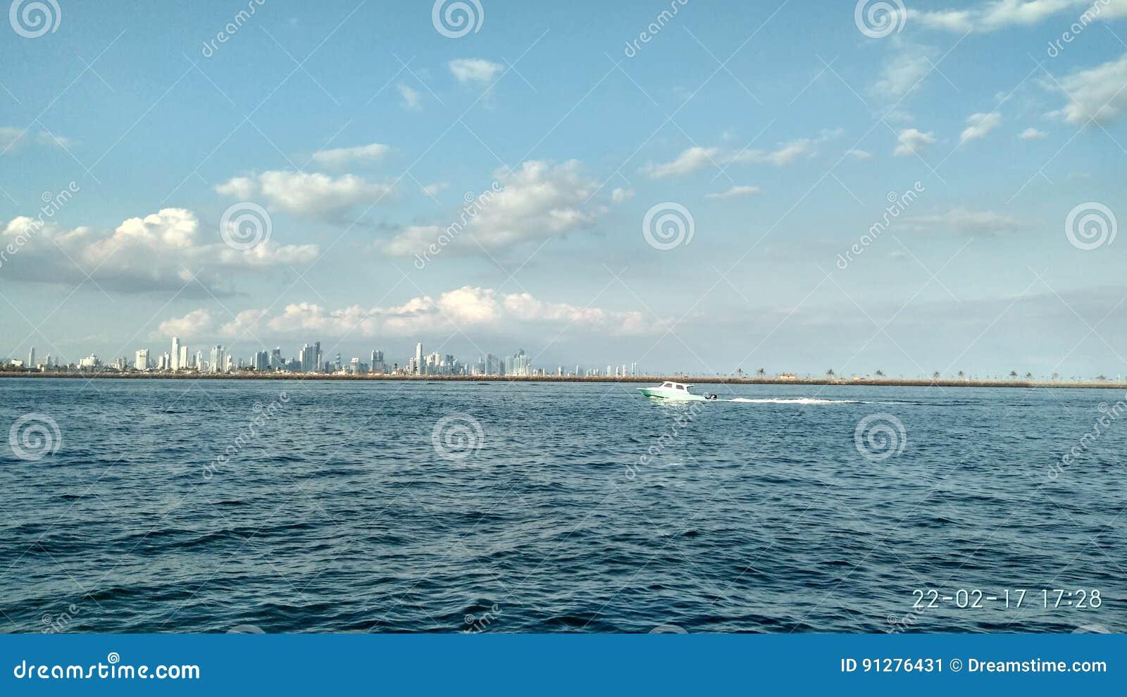 HavsPanama City Stilla havet