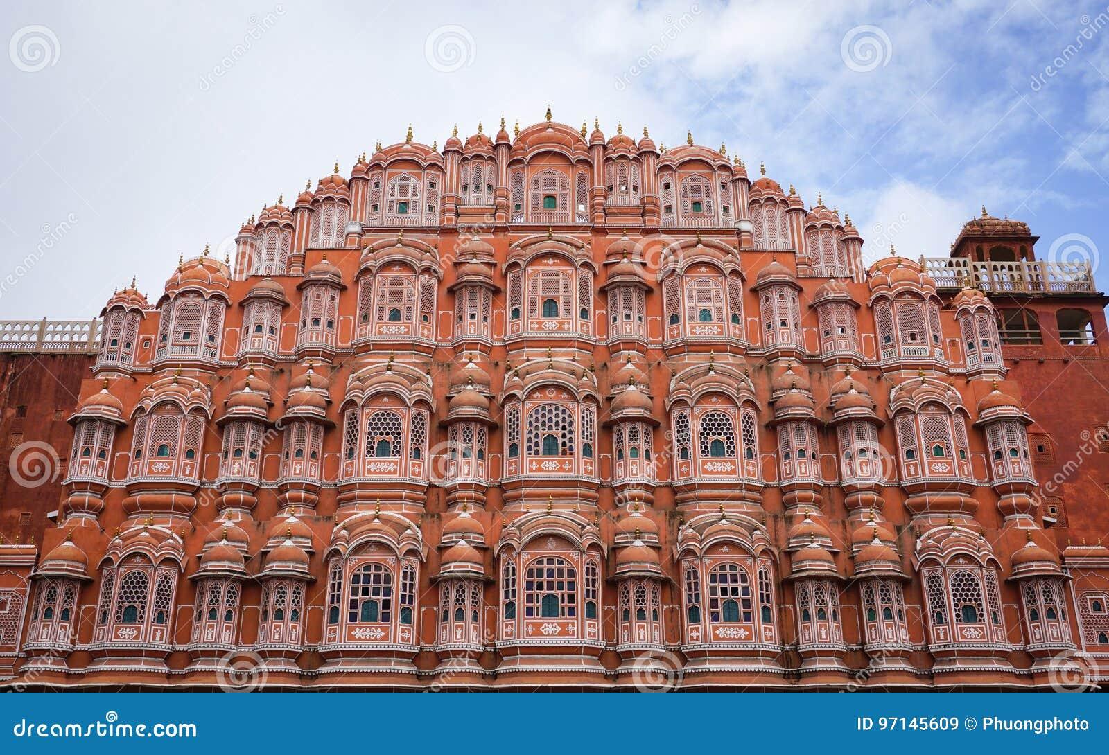 Hawa Mahal (παλάτι αέρα) στο Jaipur, Ινδία