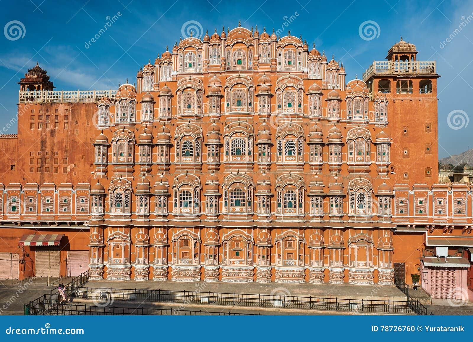 15 Architetti Famosi hawa mahal, il palazzo dei venti, jaipur, ragiastan, india