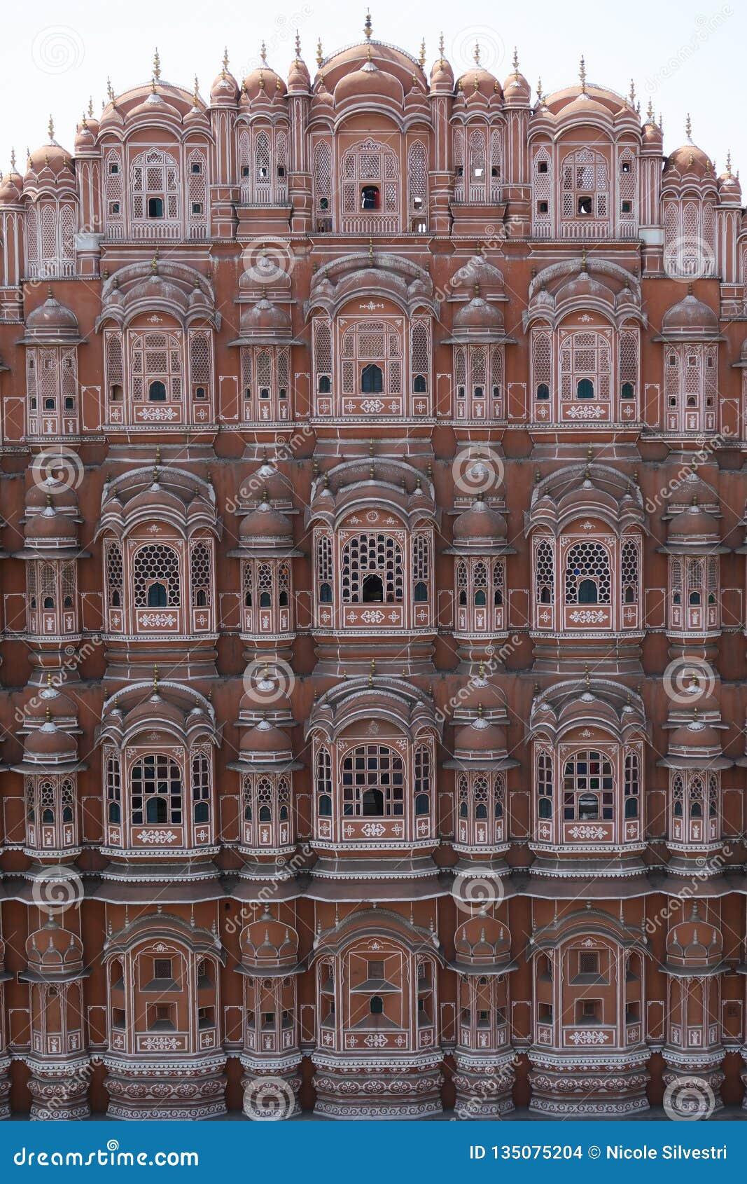 Hawa Mahal in India editorial stock image  Image of mahal