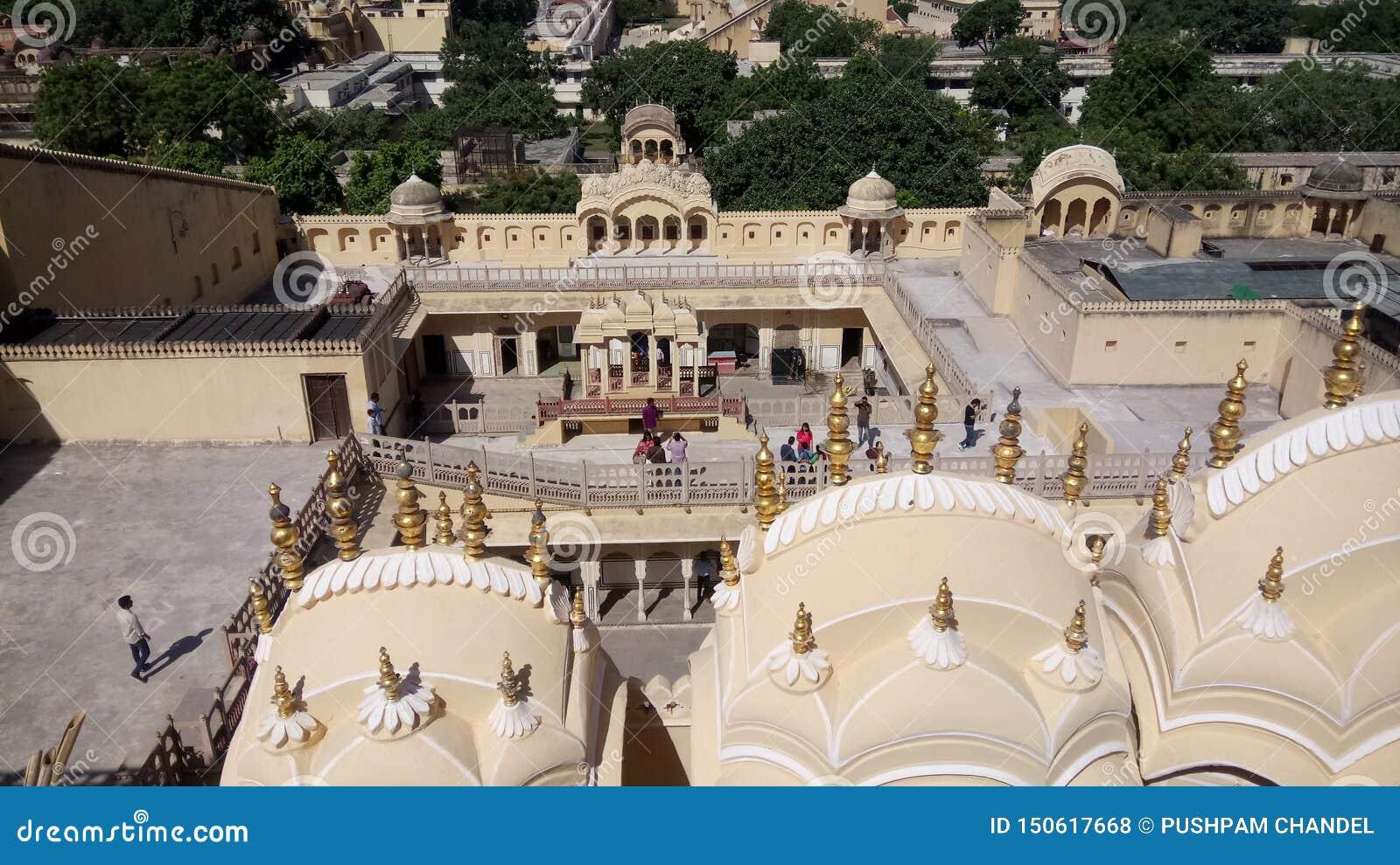 Hawa Mahal `Palace of Winds` Jaipur Rajsthan India