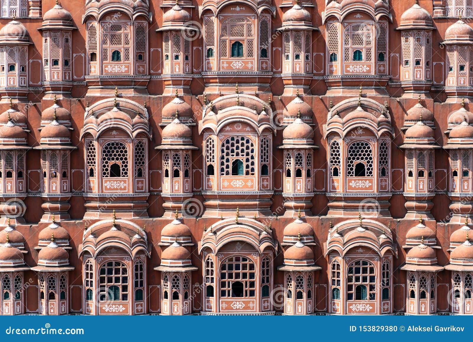 Hawa Mahal - paleis in Jaipur