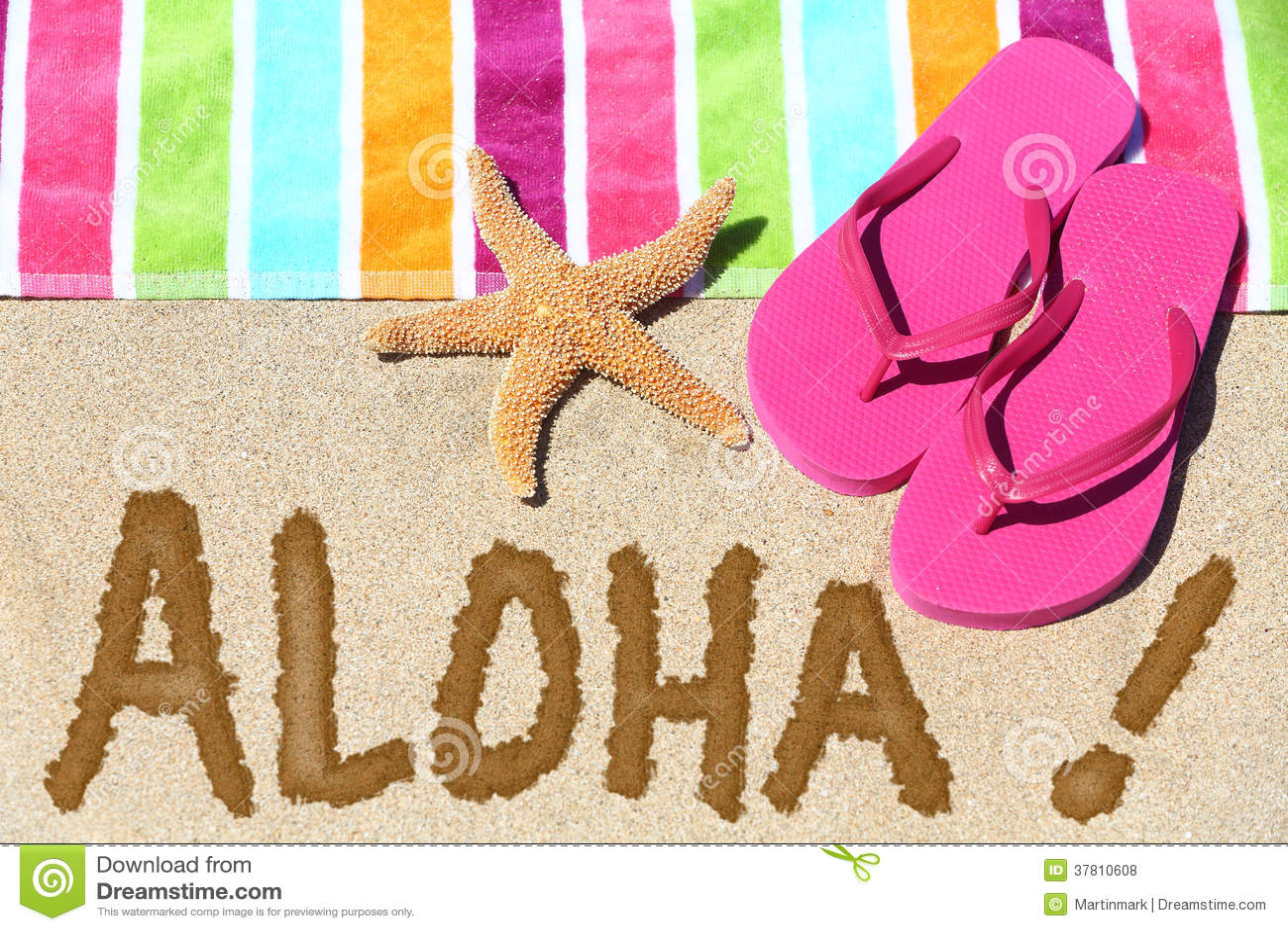 Hawaii Beach Travel Concept