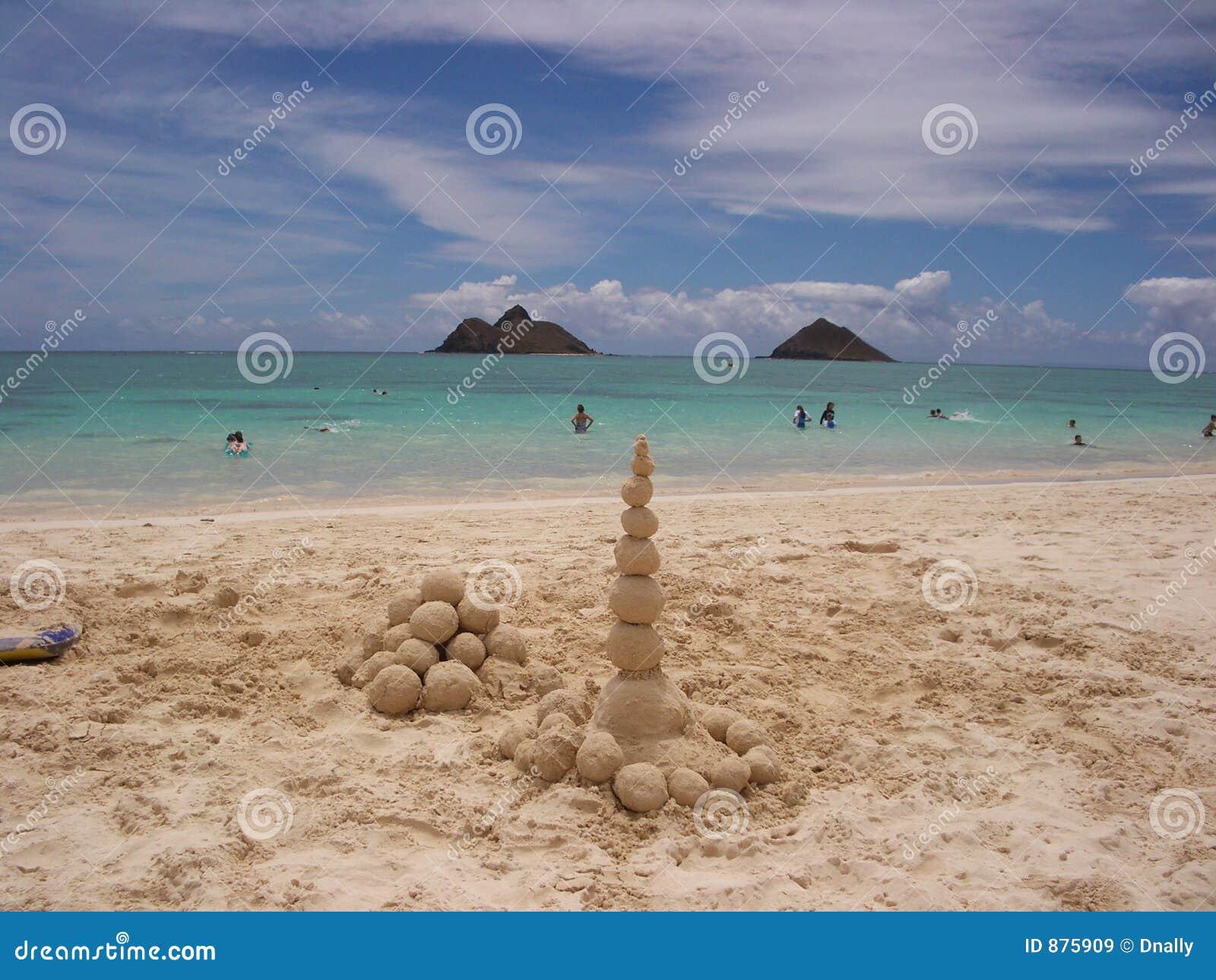 Hawaii lanikai plaży