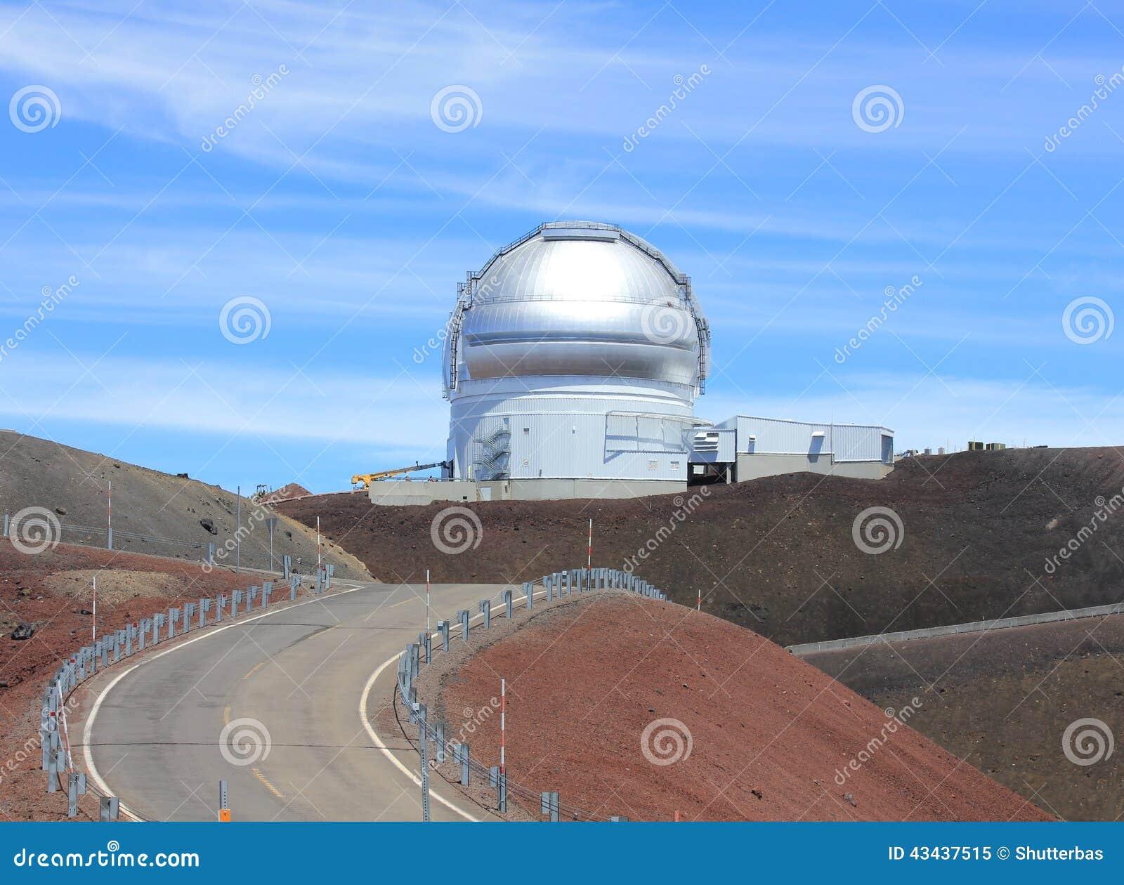 Hawaii Observatory Stock Photo - Image: 43437515