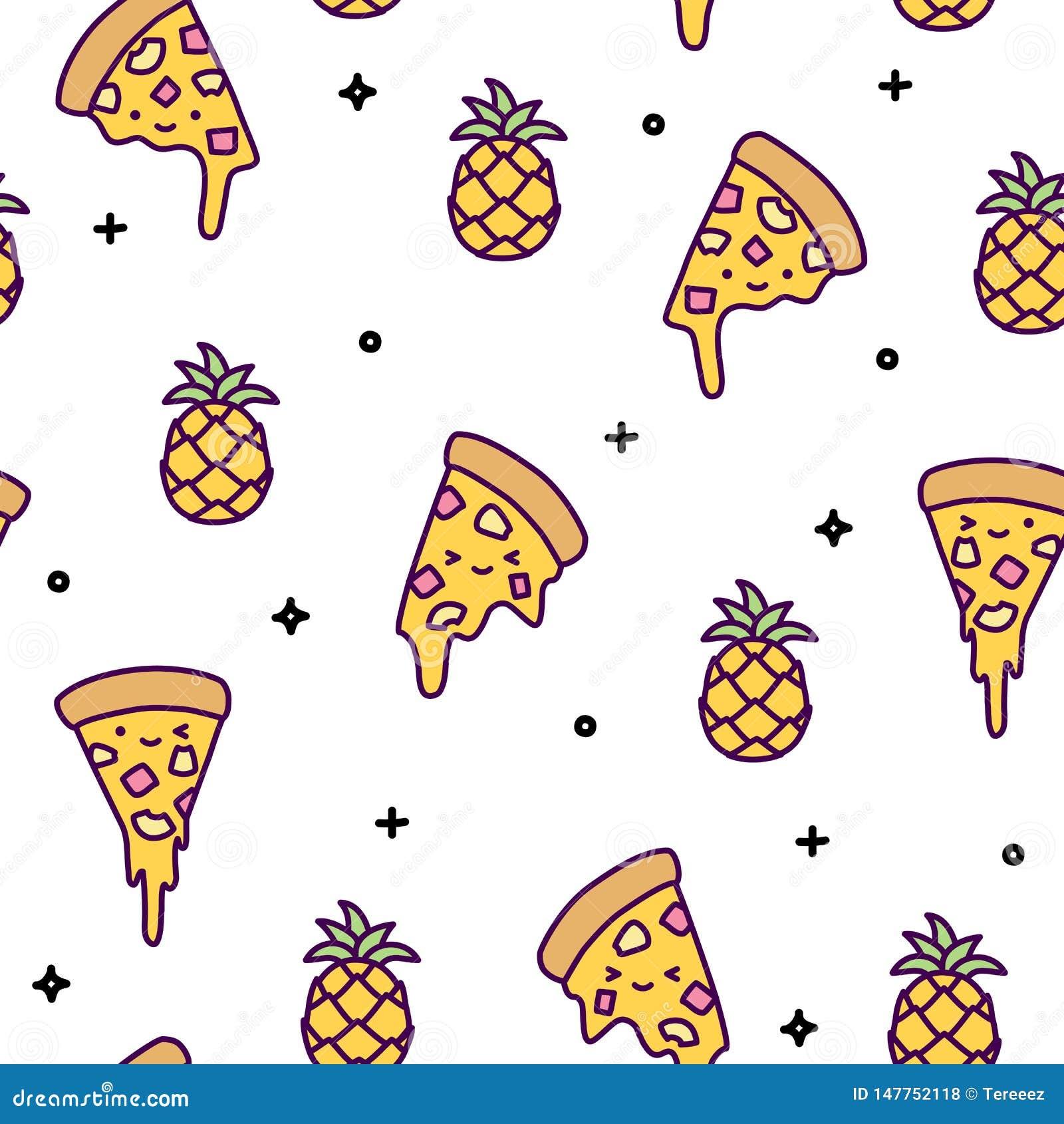 Pineapple Pizza Stock Illustrations – 1,376 Pineapple ...