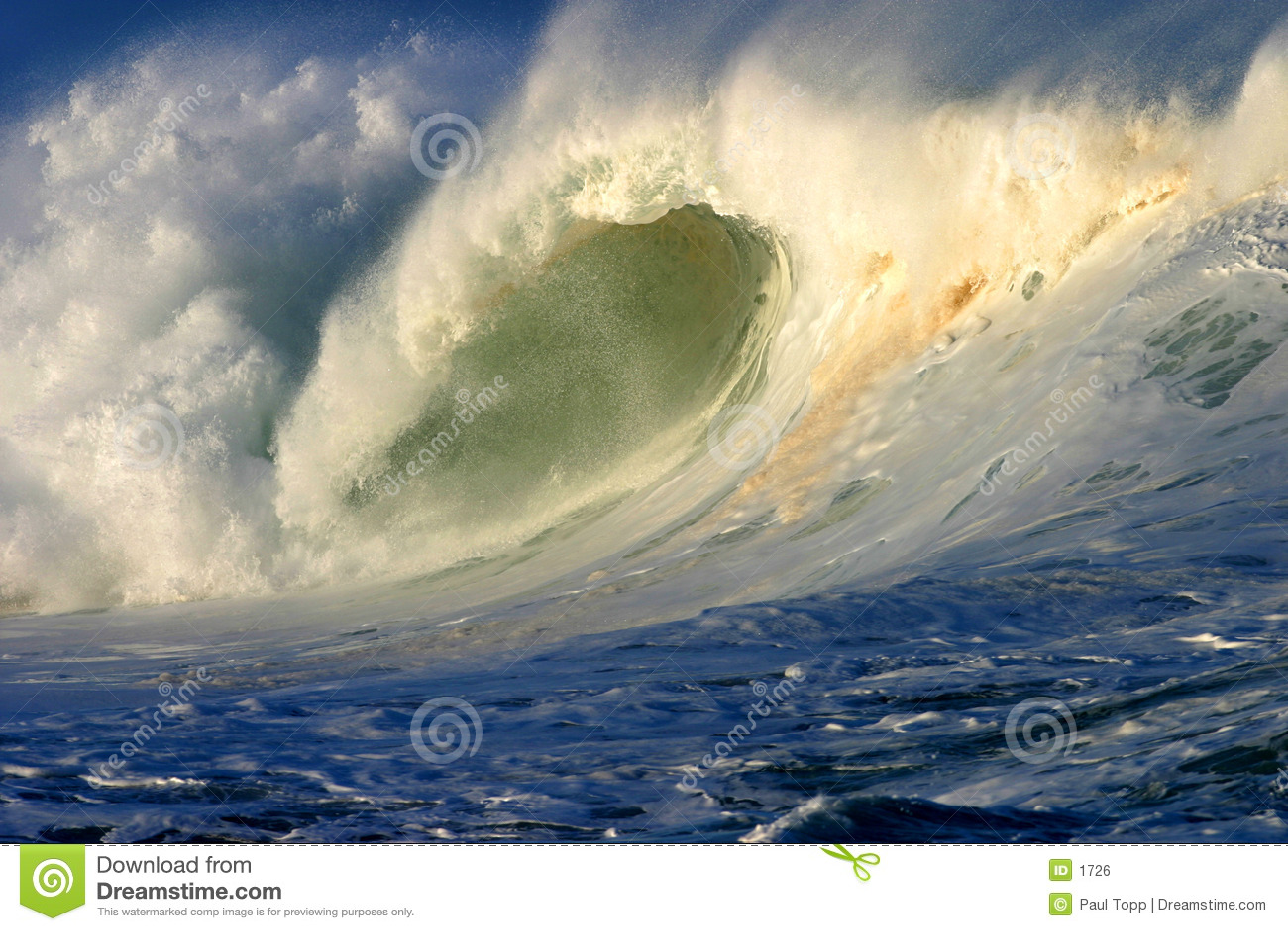 Hawaii surfingu potężna fala oceanu
