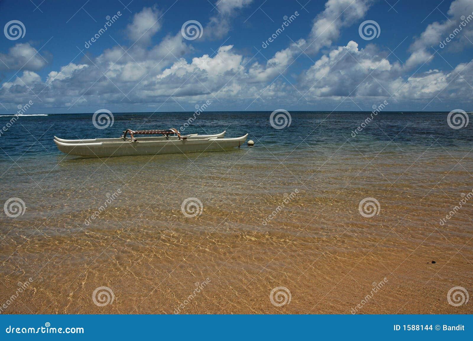 Hawaiiaanse Kano in Paradijs
