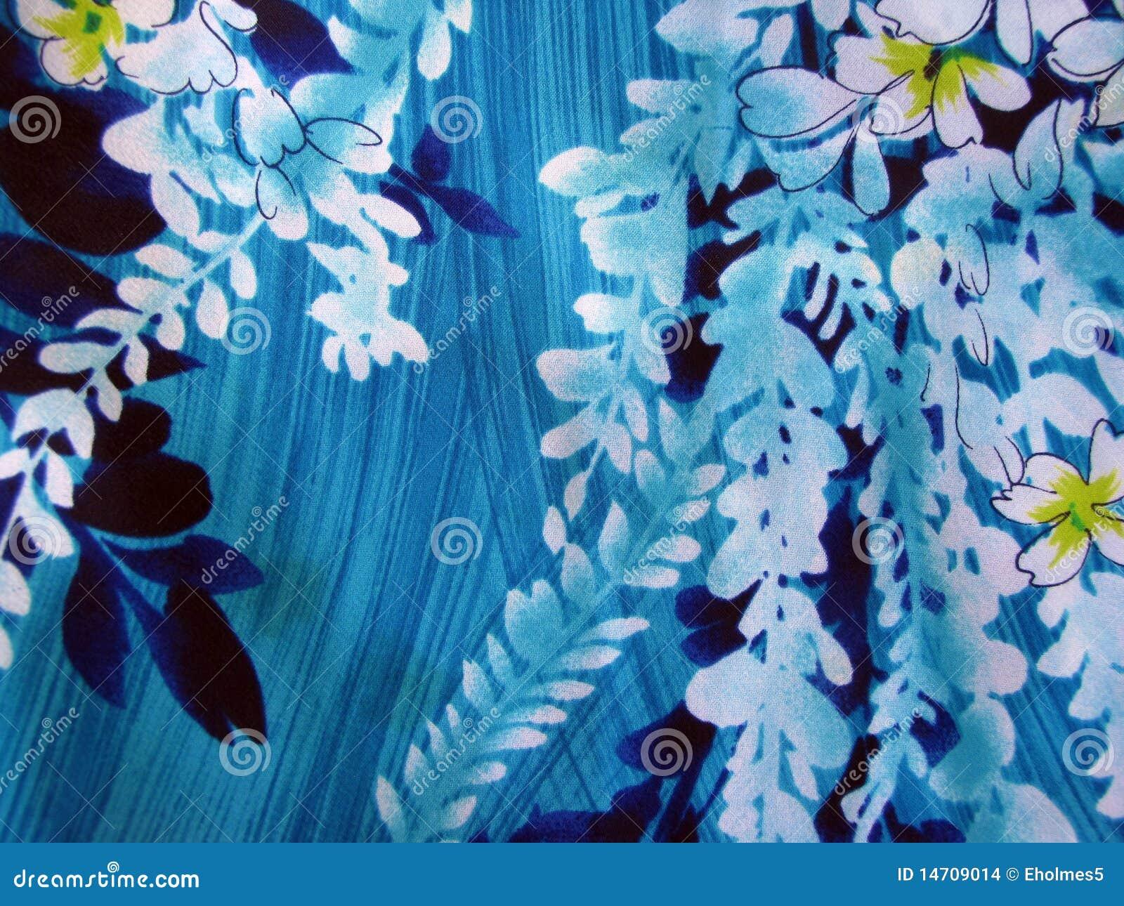 Hawaiian Floral Print Stock Illustration Illustration Of Material