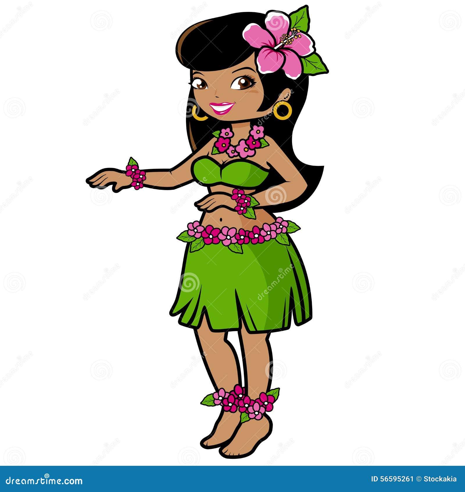 hawaiian hula girl dancer stock vector image of guitar player clipart free guitar player clipart