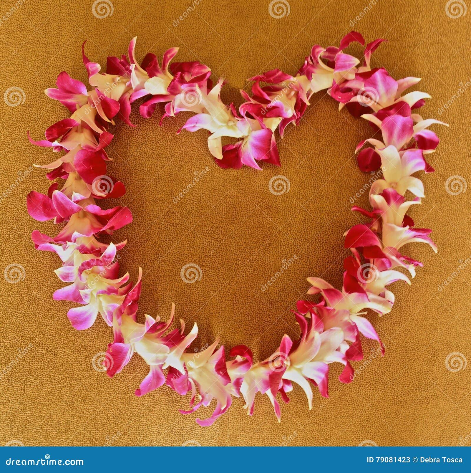 Hawaiian lei stock image image of heart white shaped 79081423 hawaiian lei izmirmasajfo Images