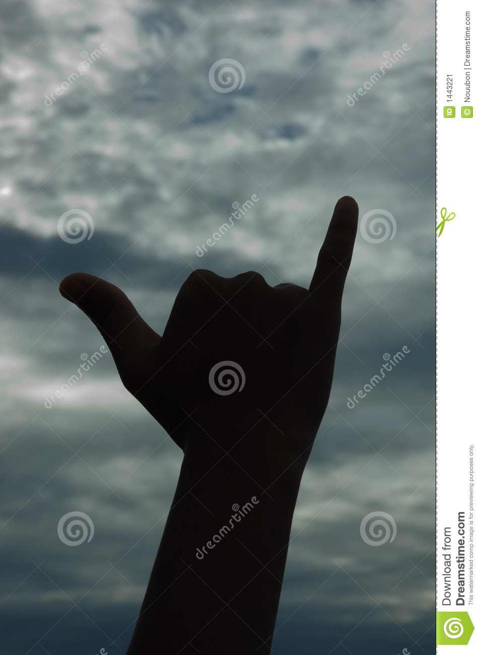 Hawaiian Shaka Hand Sign