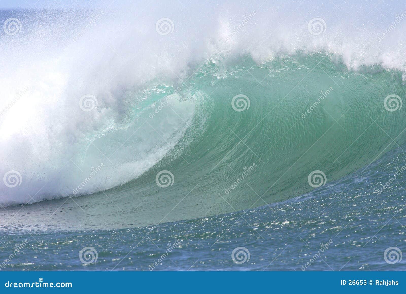 Hawaiian South Shore Wave