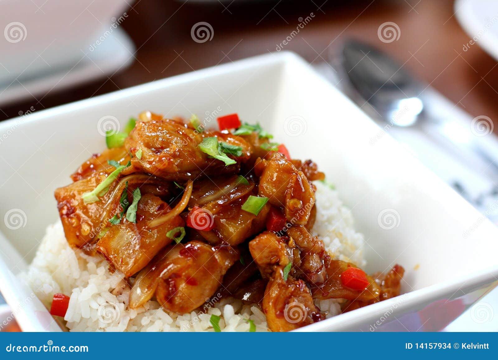 Hawaiian Style Chicken Rice