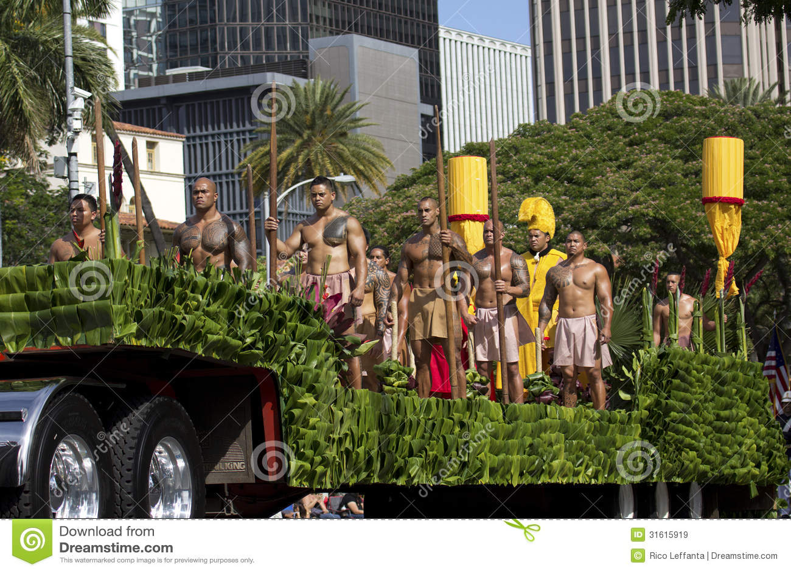 Hawaiian Warriors Editorial Stock Image Image Of Leffanta