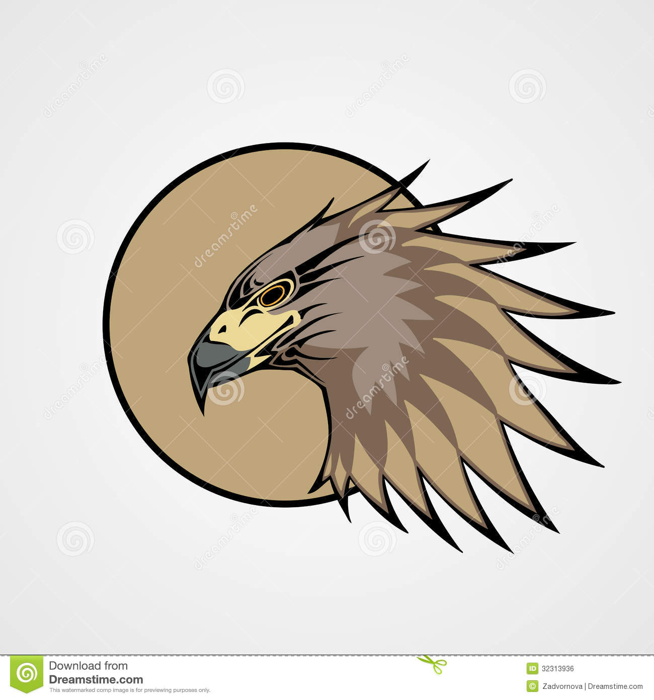 Hawk Royalty Free Stock Image - Image: 32313936
