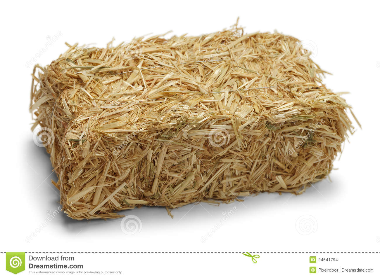 Hay Bale Stock Images - Image: 34641794