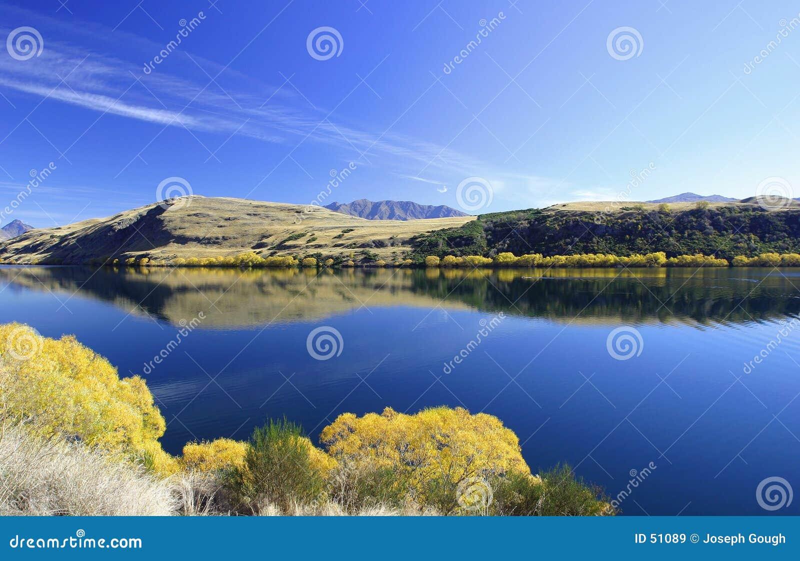 Hayes lake New Zealand