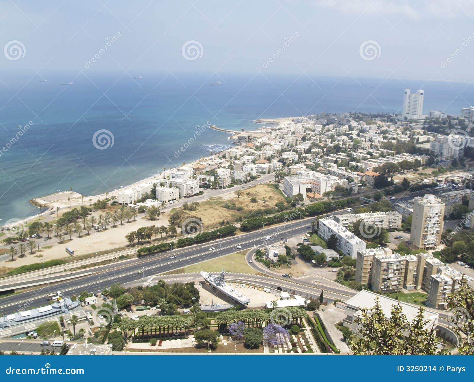 Hayfa - aerial view