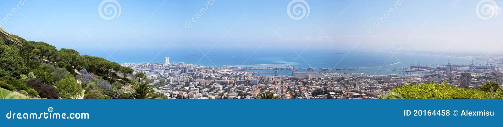 Hayfa landscape