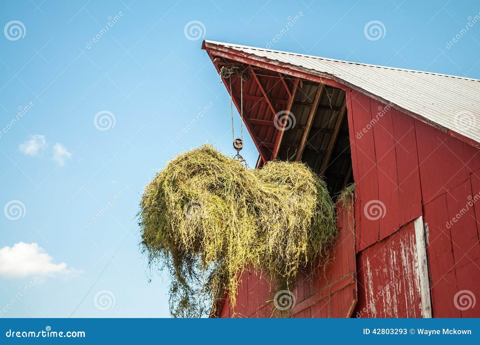 Hayloft Stock Photo - Image: 42803293