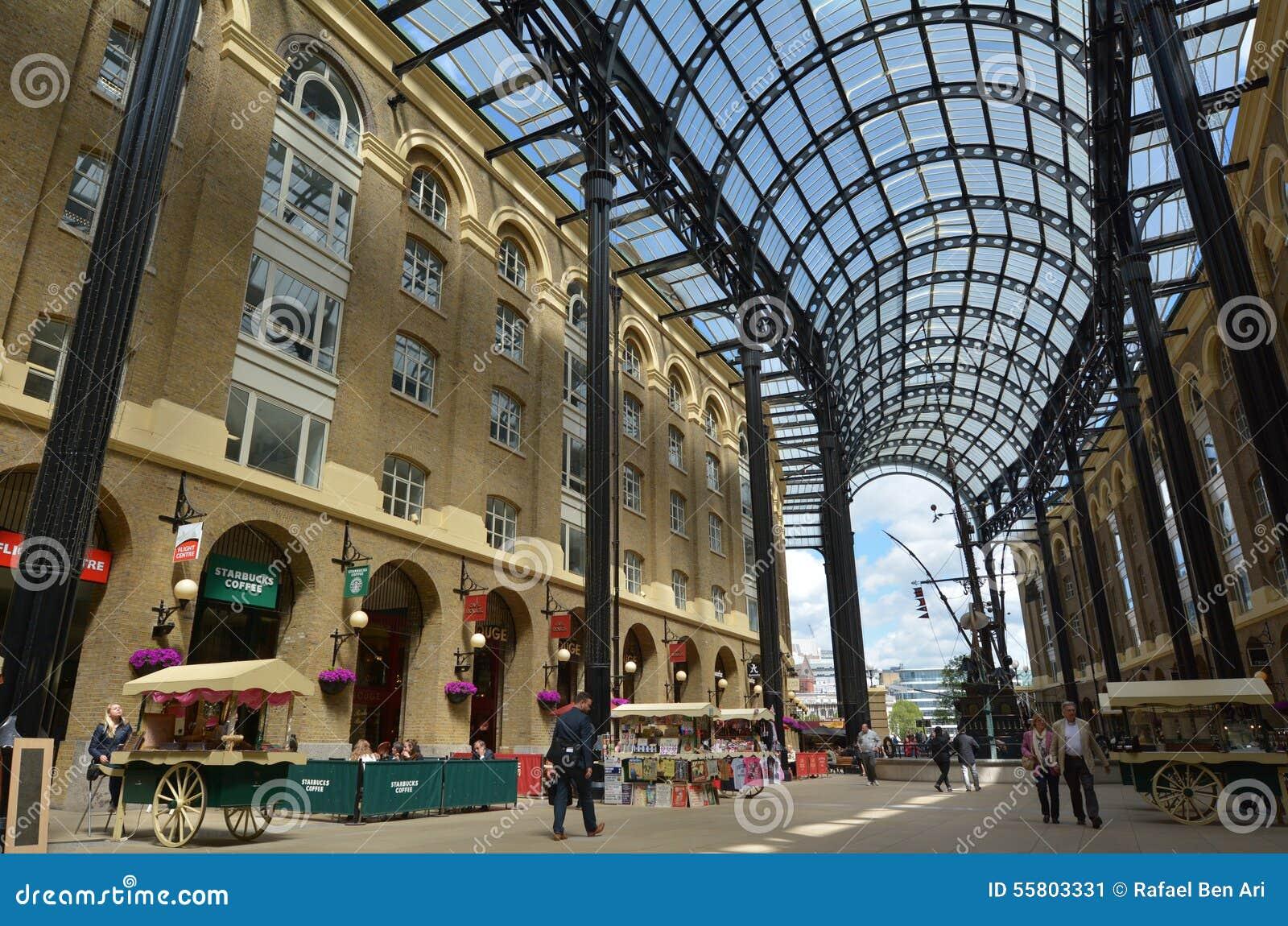 Hays Galleria In London Uk Editorial Photo Image Of