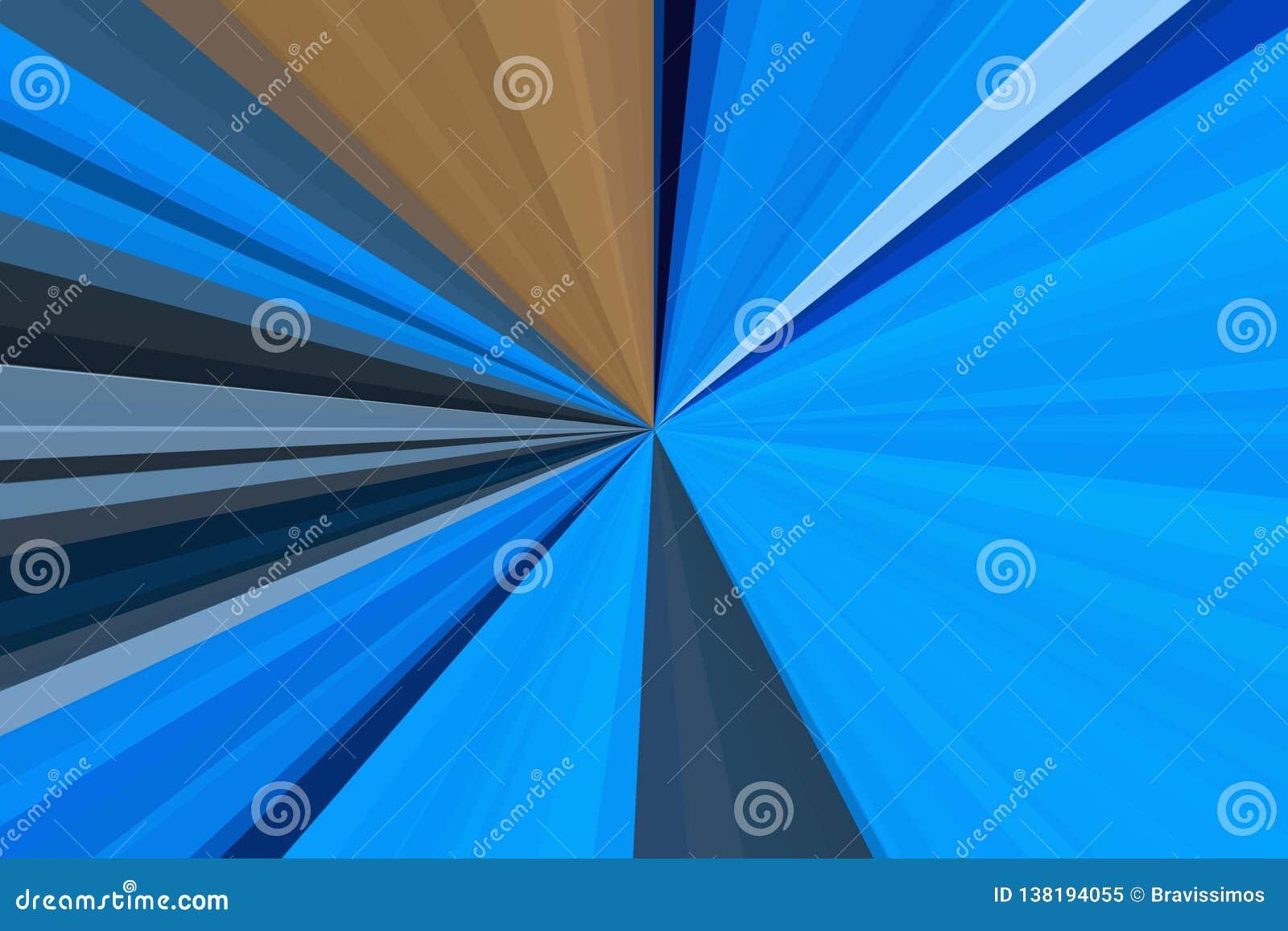 Haz azul claro del fondo del resplandor capri brillante