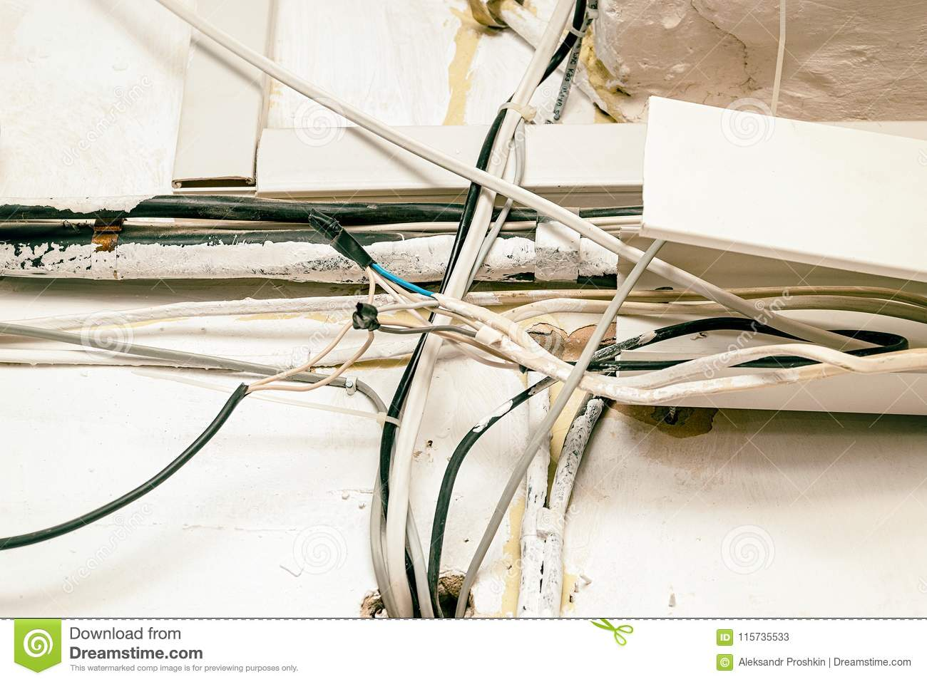 Marvelous Hazard Electrical Wiring Stock Image Image Of Inspection 115735533 Wiring Cloud Hisonuggs Outletorg