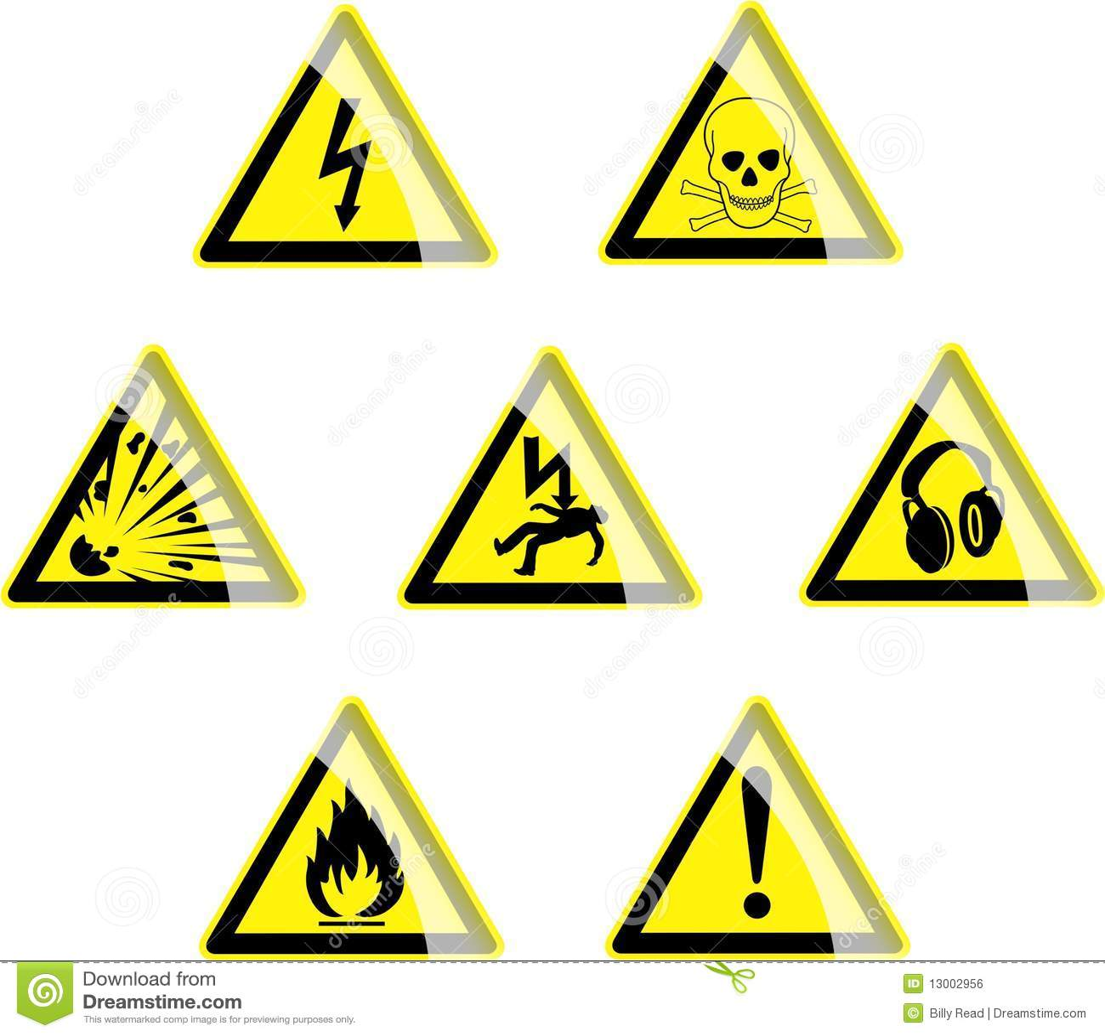 Hazard symbols stock vector illustration of depicting 13002956 hazard symbols biocorpaavc Gallery