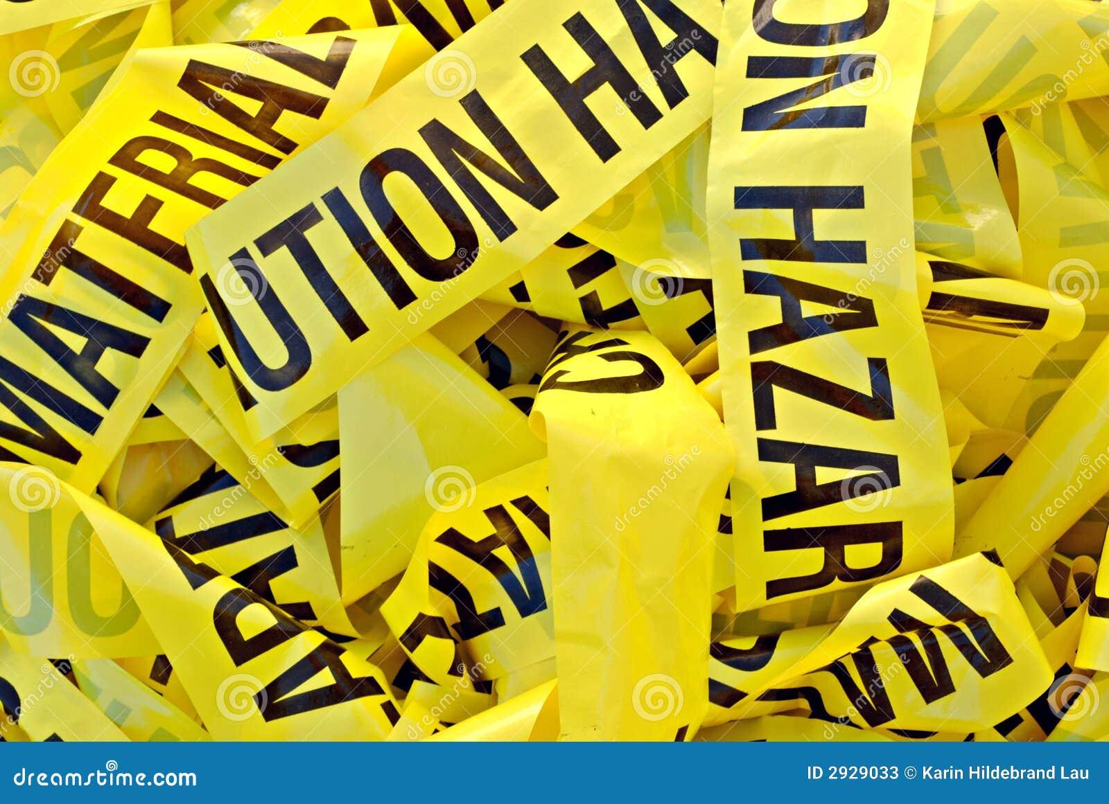 Hazardous Building Material : Hazardous material tape stock photos image