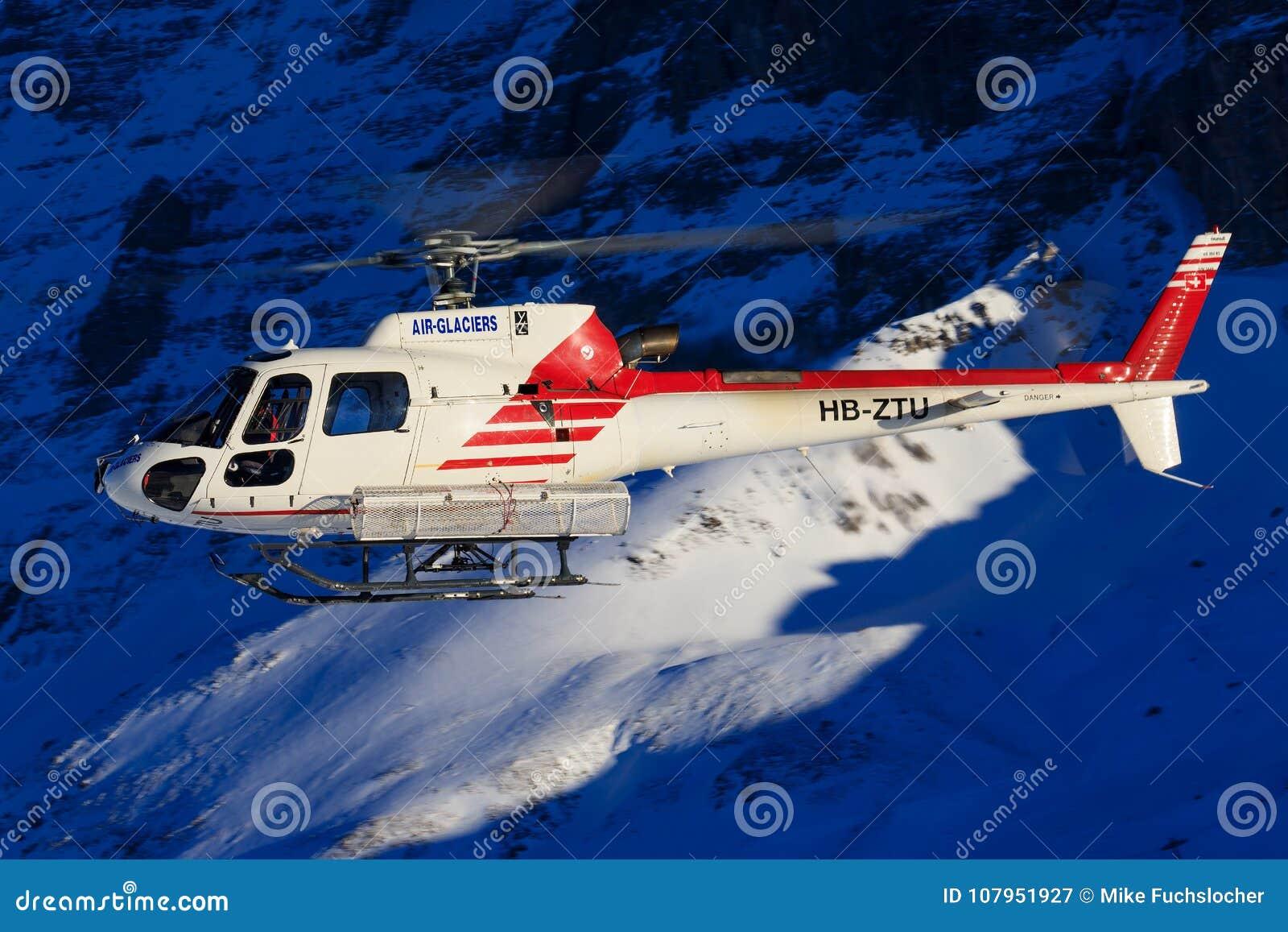 Hb-ZNJ AS350B3 door swissheli