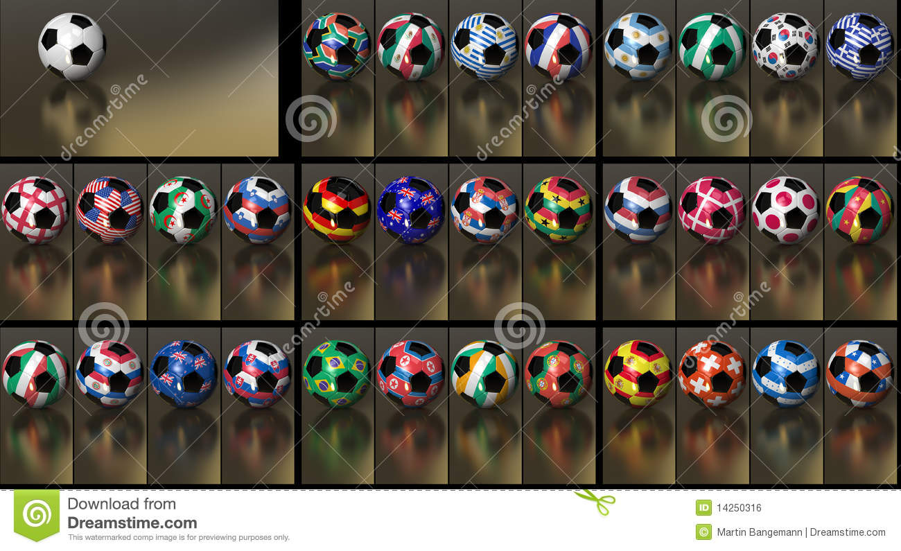 Hd 1080 Soccer Collection World Cup 2010 Royalty Free