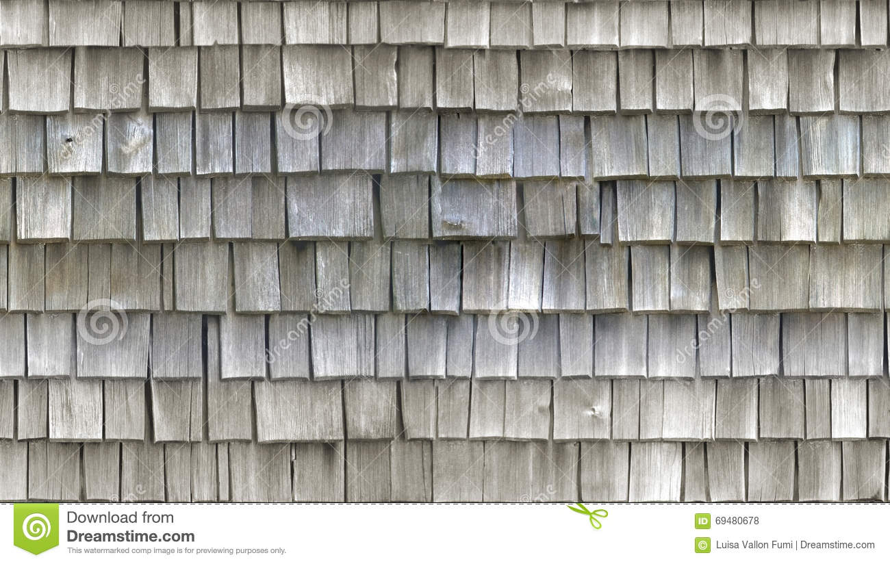 Hd Seamless Texture Wooden Tiled Roof Stock Photo Image