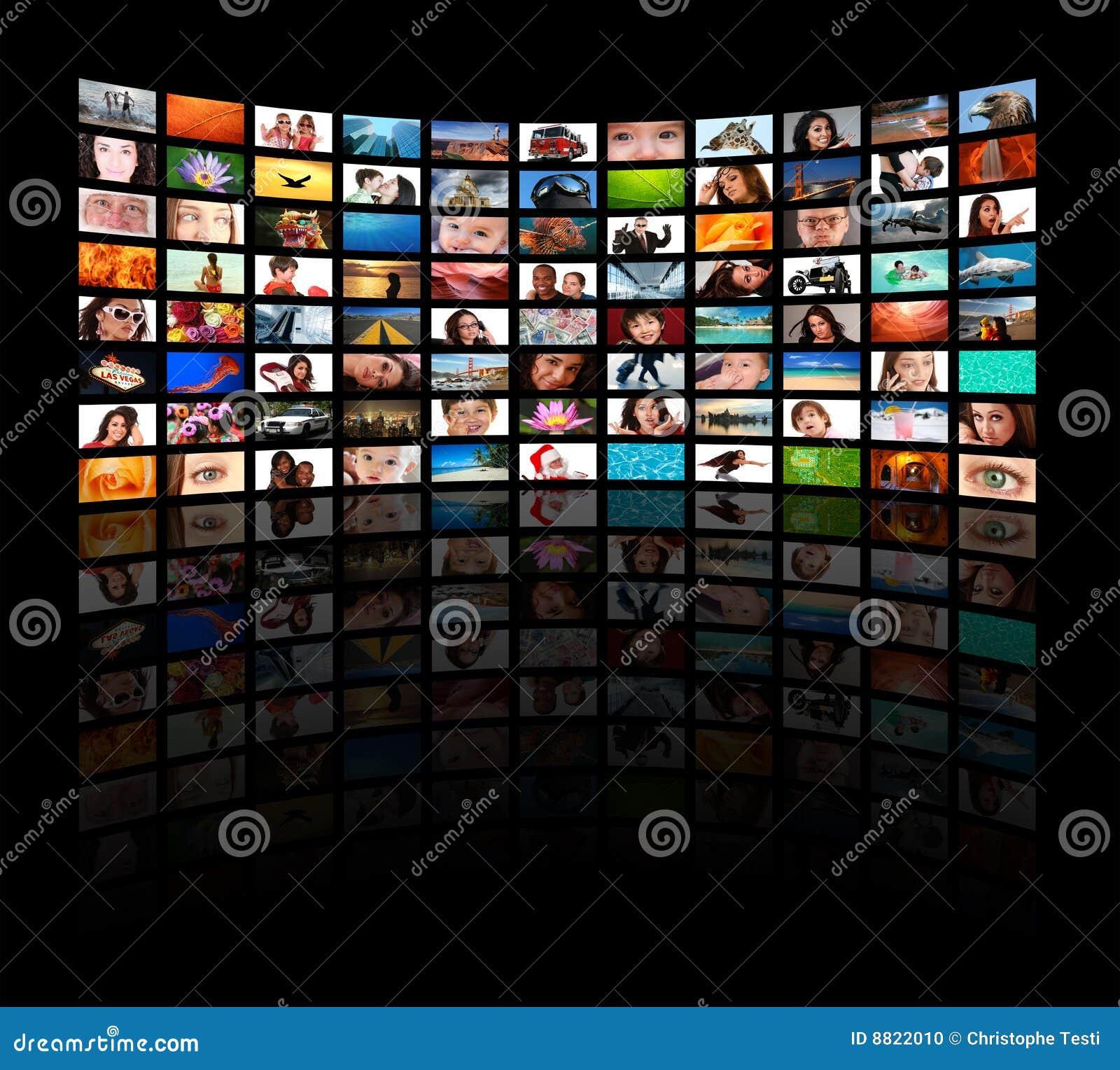 HD TVs die film tonen