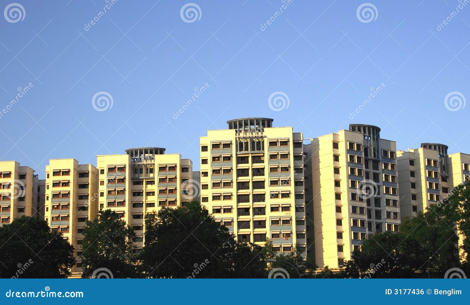 hdb in singapore stock photo image of environment urban 3177436