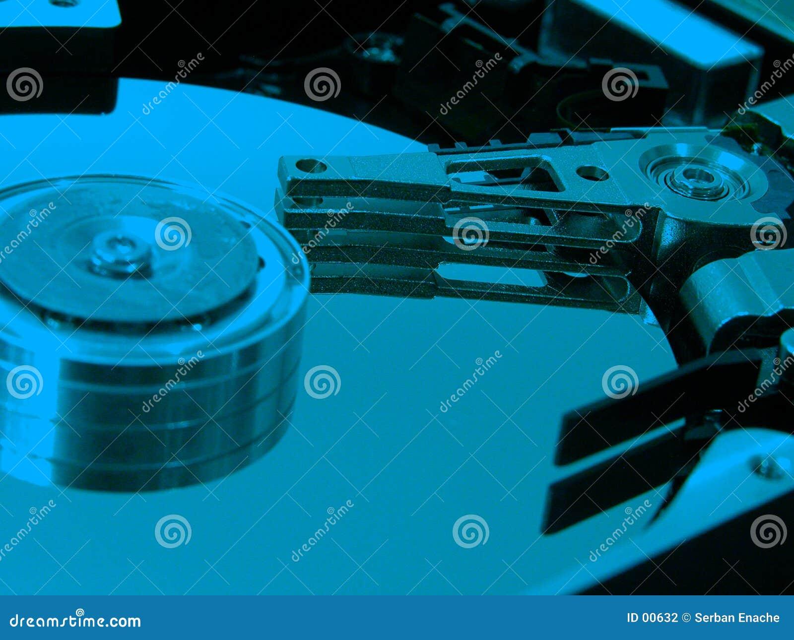 Download Hdd blu fotografia stock. Immagine di inossidabile, lucido - 632