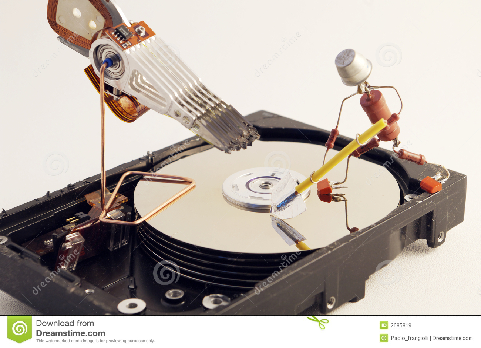 HDD Repair Royalty Free Stock Images - Image: 2685819